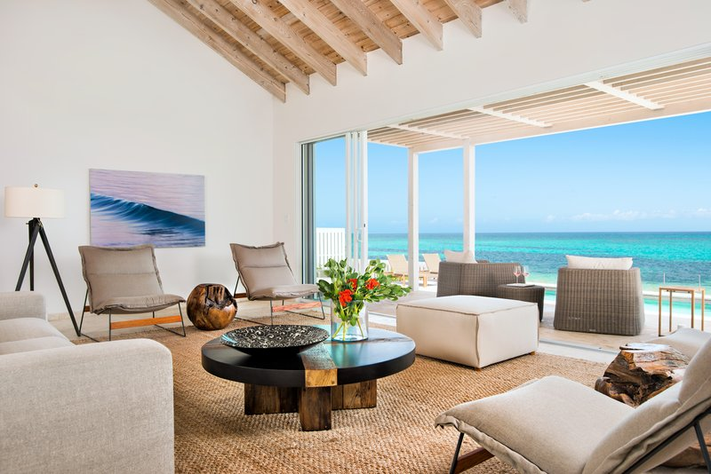 Sailrock Resort Beachfront Villa Living Room