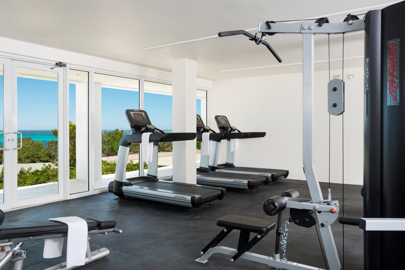 Sailrock Resort Fitness Center Gym