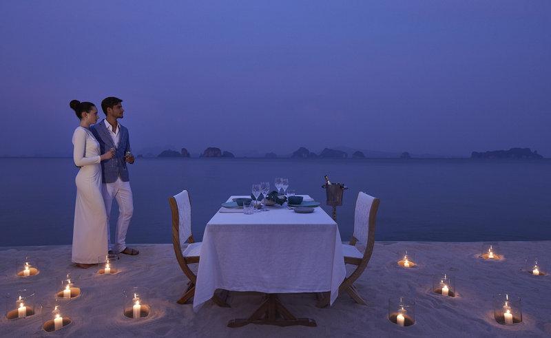 Cape Kudu Hotel Private Dinner on the Beach