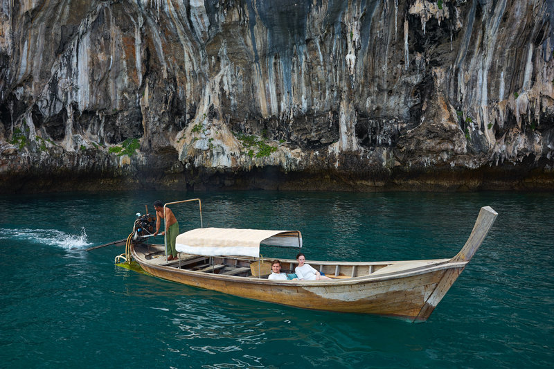 Cape Kudu Trip To Koh Hong By Long Tailed Boat
