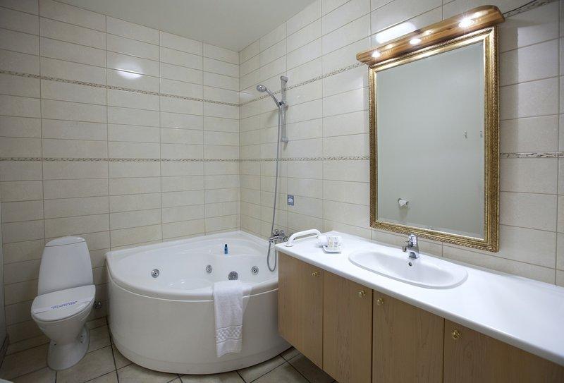 Standard room, bathroom