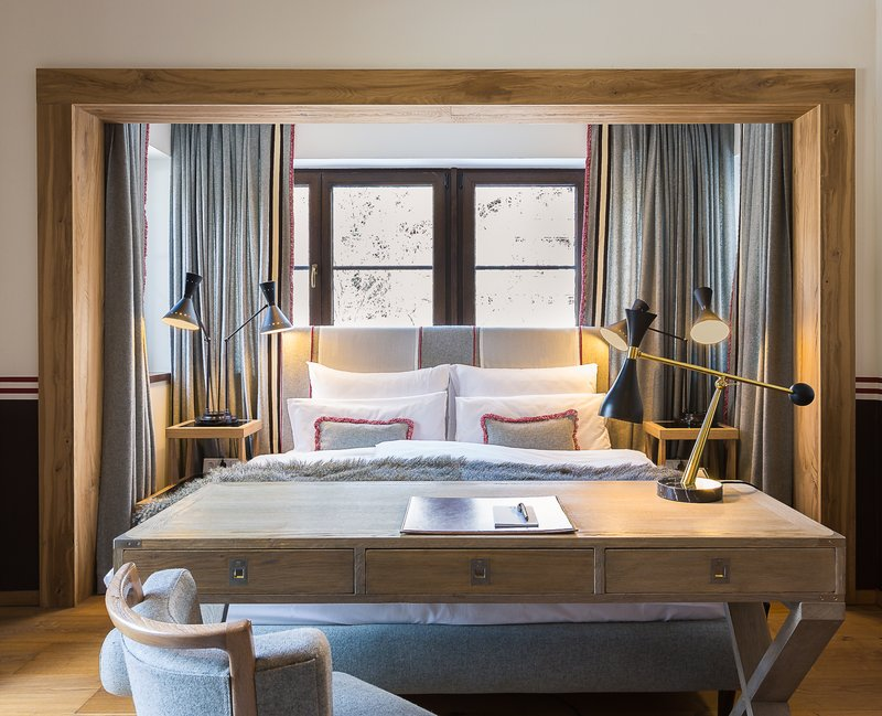 Alpin Suite Bed Area