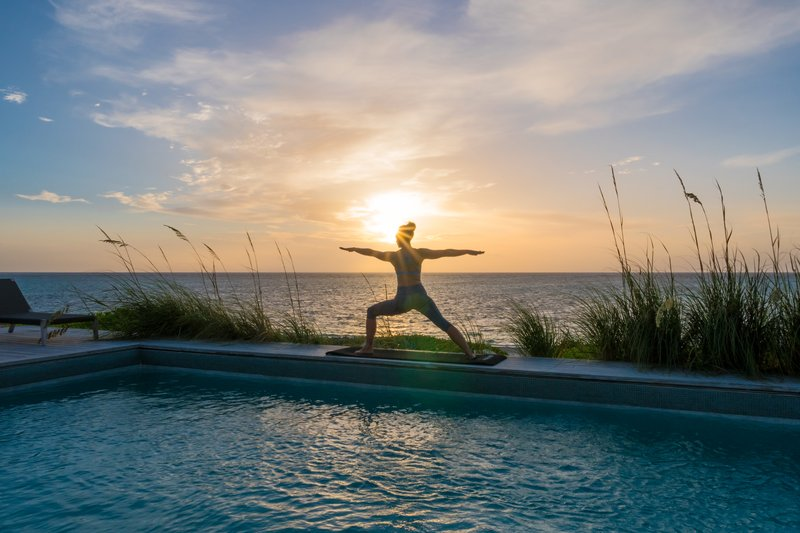 Sailrock Resort Sunrise Yoga
