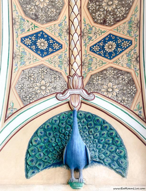 Raj Palace interior
