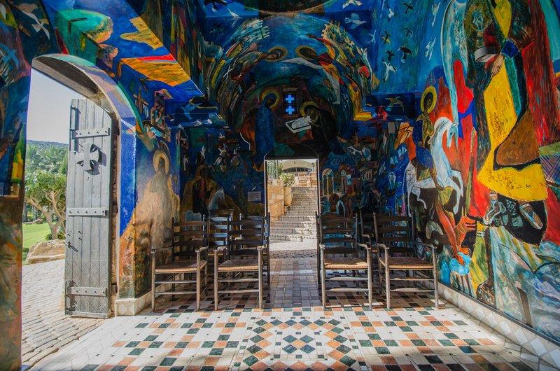 All Saints Chapel Interior