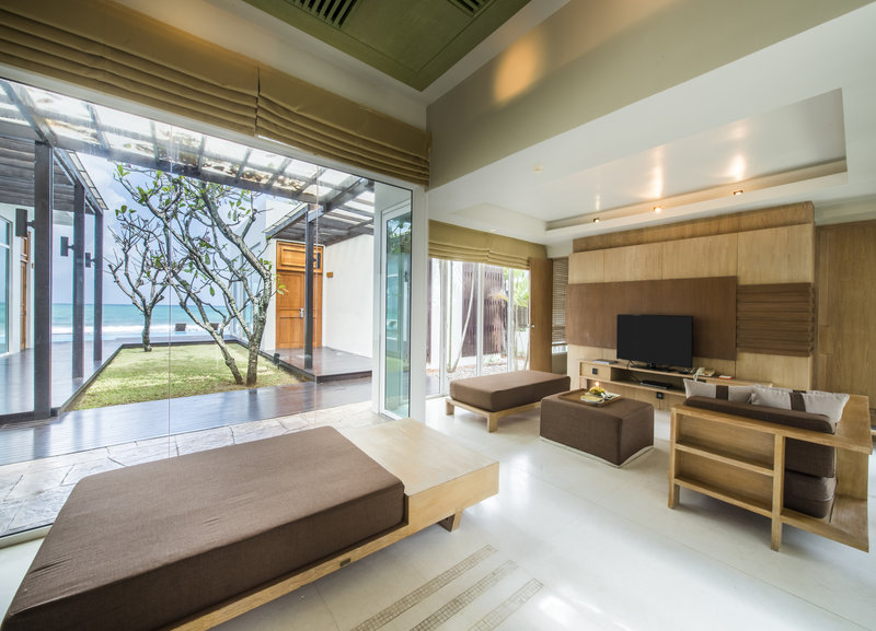Bedroom Beachfront Pool Villa