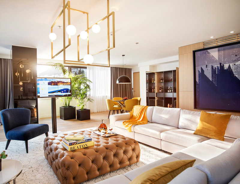 Presidential Suite Living Room - The Tower