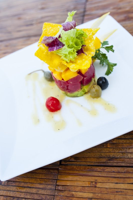 Food Tuna Tartar Starter