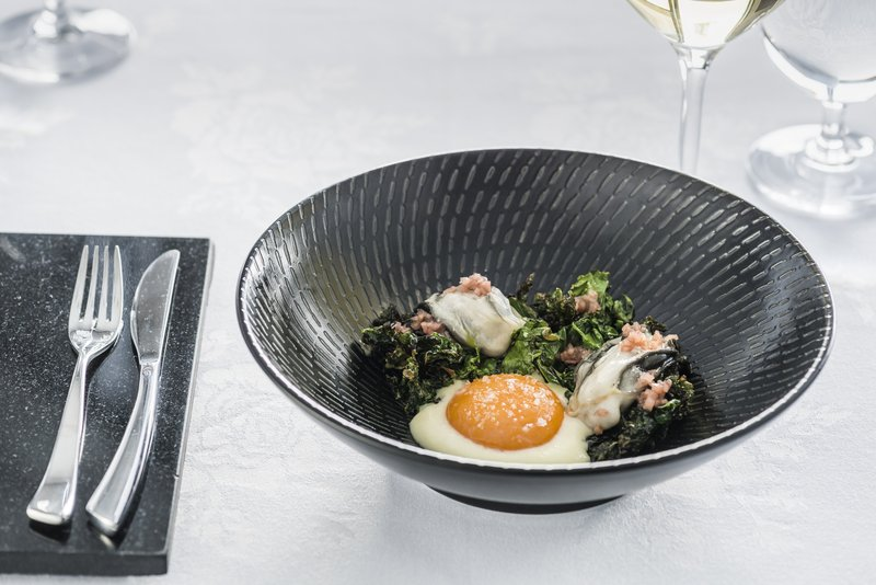 Pescatore - Poached Egg And Kale