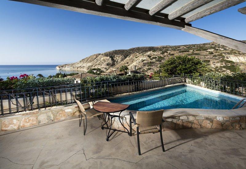 Eagles Nest Suite Plunge Pool & Terrace