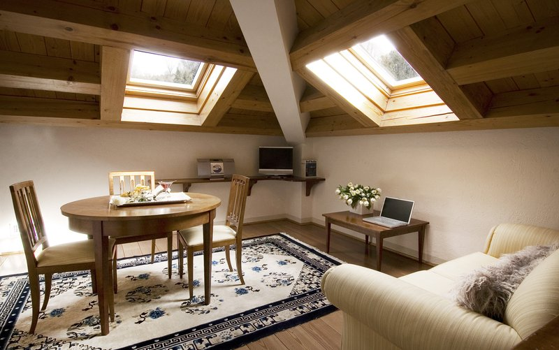 Living Room Mansard Suite