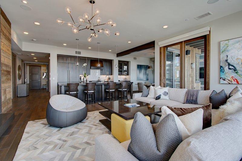 Three Bedroom Living Area