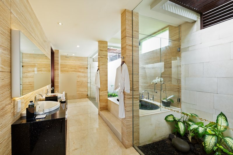 Two Bedroom Garden Villa Bathroom