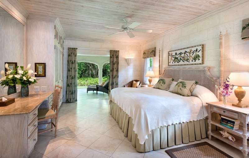 The Bedroom of Tamarind Villa