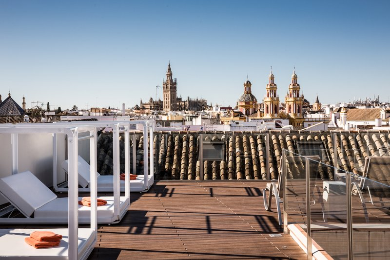 Panoramic views of Seville