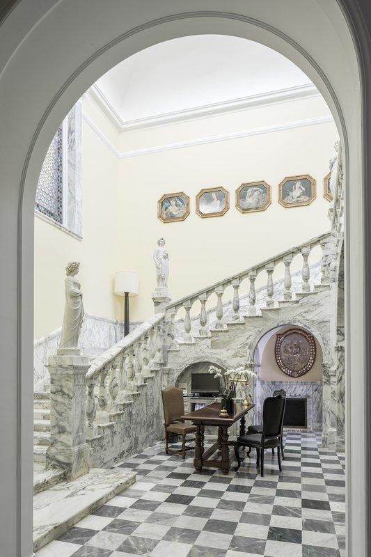 The Reception / Lobby area