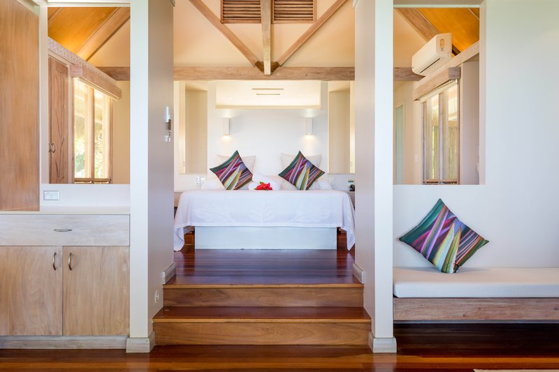 Beachfrot Bungalow Bedroom