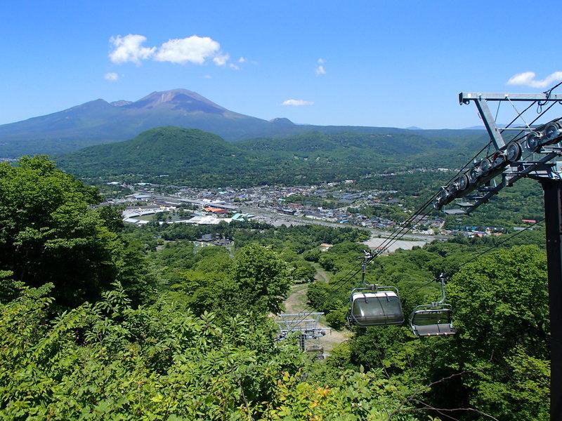 Summer Ski Lift for sightseeing