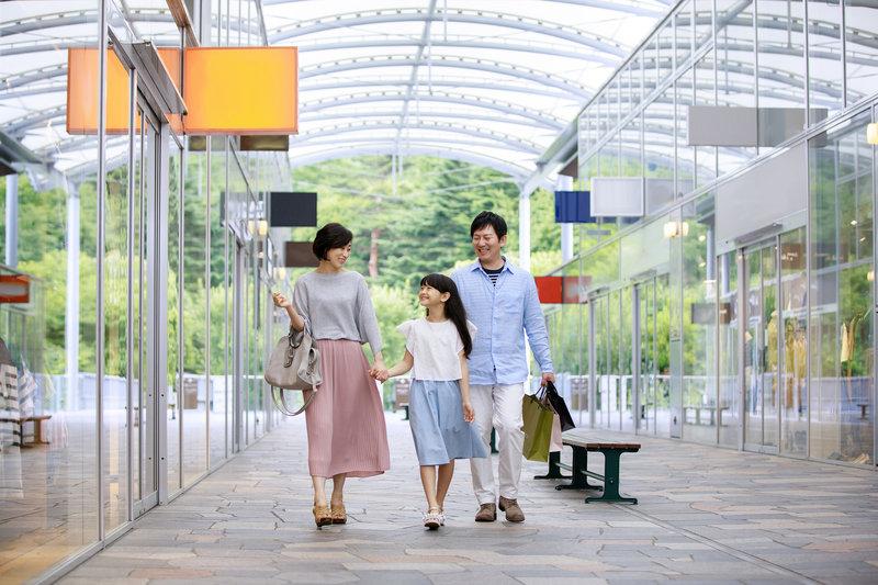 Shopping at Karuizawa Prince Shopping Plaza