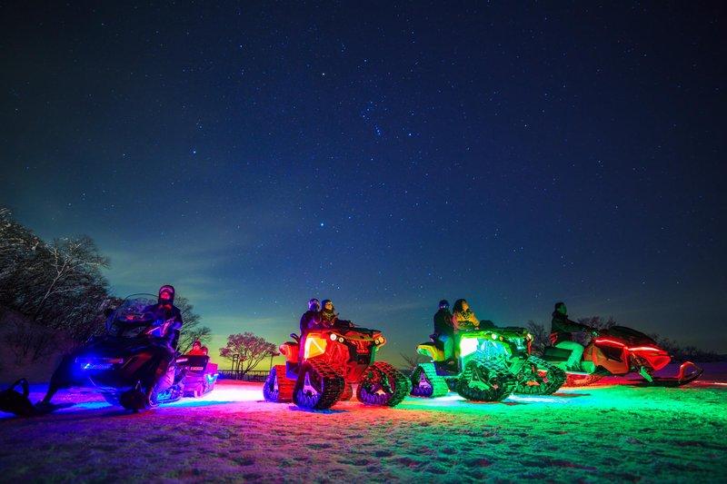 Ski Area's Night Activity