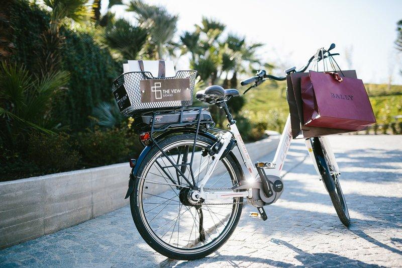 Complimentary Electric Bike