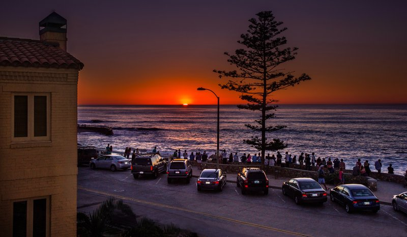 Sunset At Pantai Inn