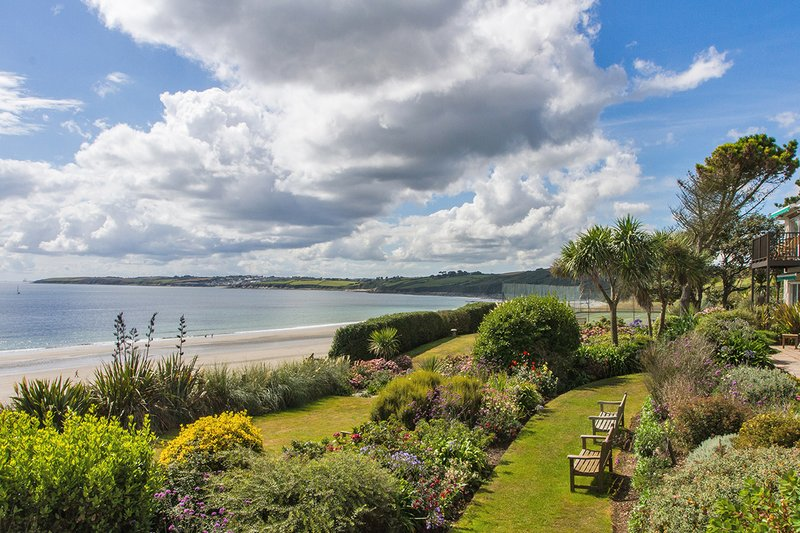 Gardens overlooking Carne Beach