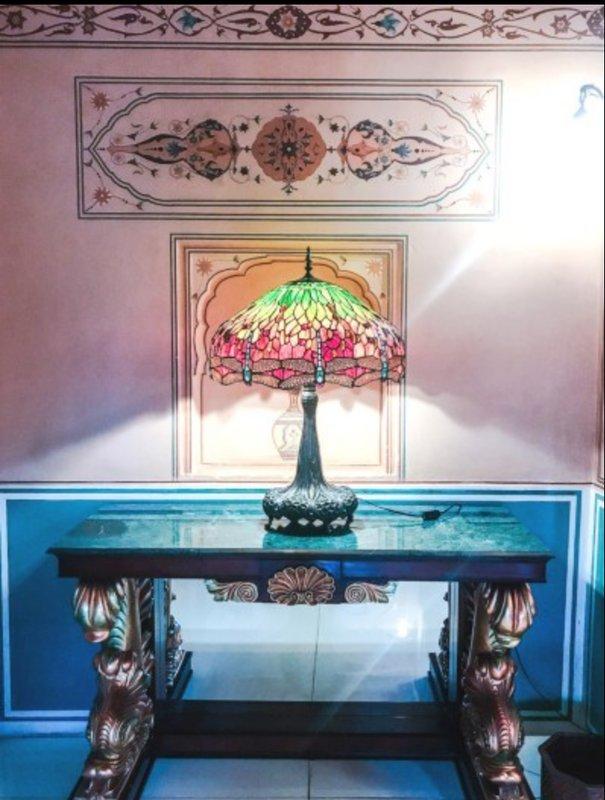 Tiffany Lampy In Durbar