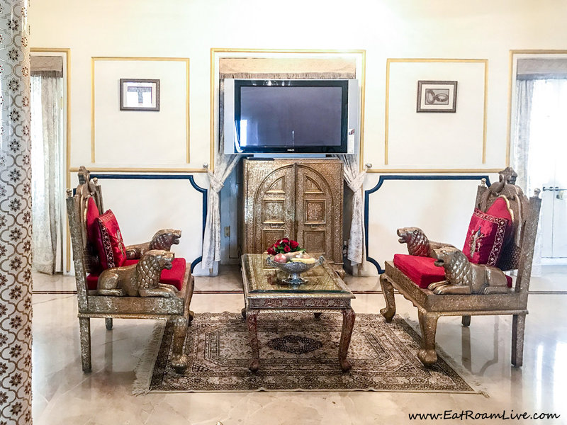 Deatiled interiors in rooms