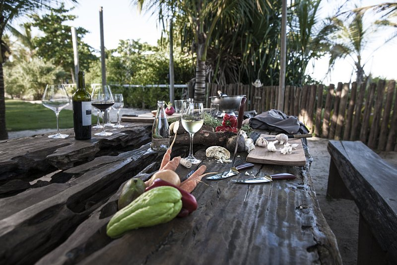 Campo Bahia Table With Food