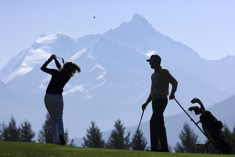 Golfeurs Montagne Olivier Maire