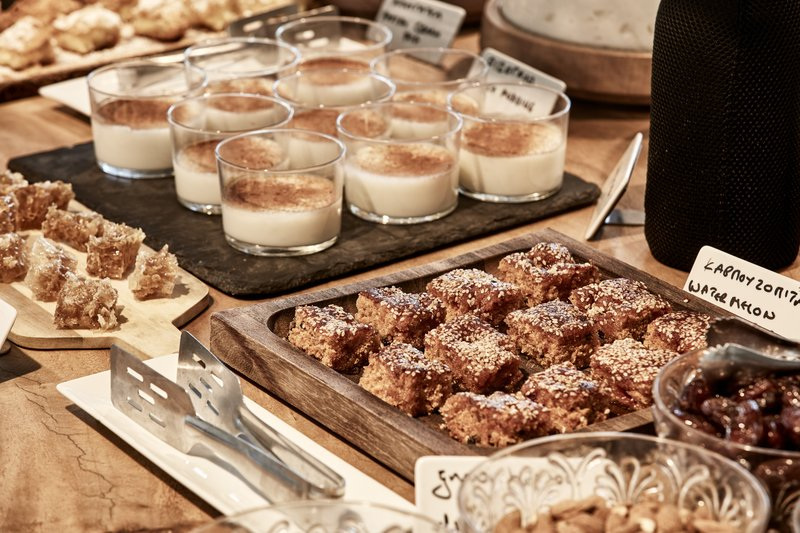 Greek Breakfast Buffet
