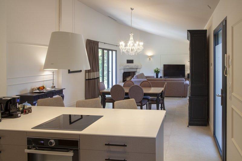 Villa Valrugues living room
