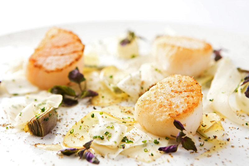 Scallop and Truffles