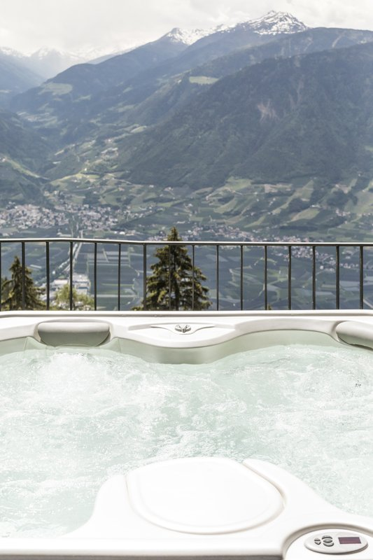 Hydromassage with a view