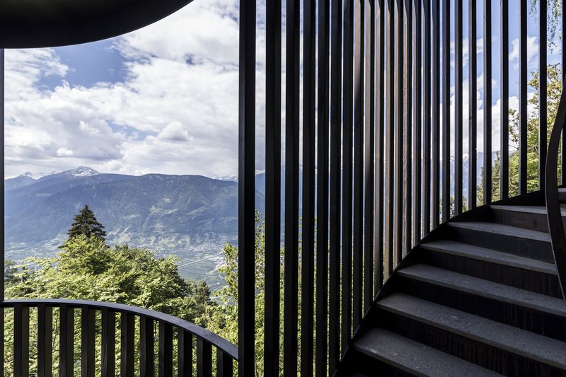 Stairs with a view