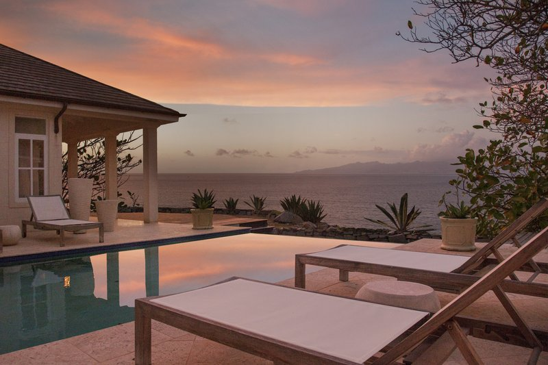 Five Bedroom Villa Pool Sunset