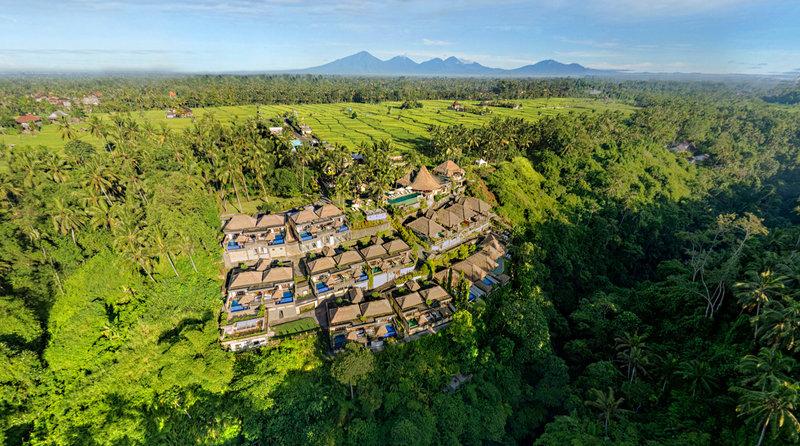 Viceroy Bali Aerial View