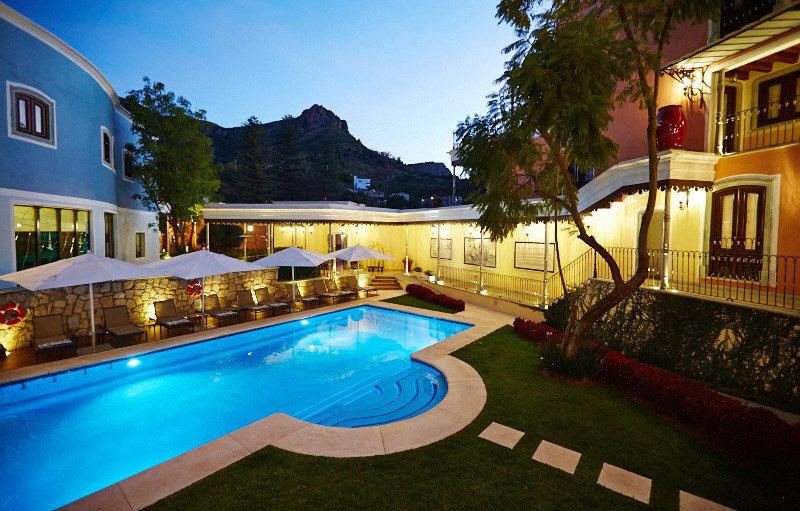 Hotel Villa Maria Cristina Guanajauto Mexico
