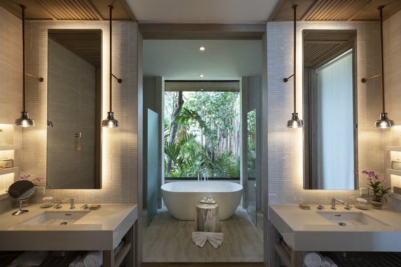 Cape Fahn Tropical Pool Villa-Bathroom