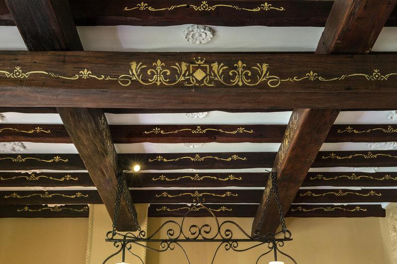 Kings Chamber gilded ceiling