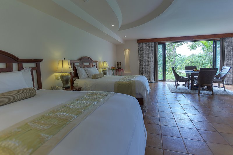 Tabacon Suite Two Full Beds