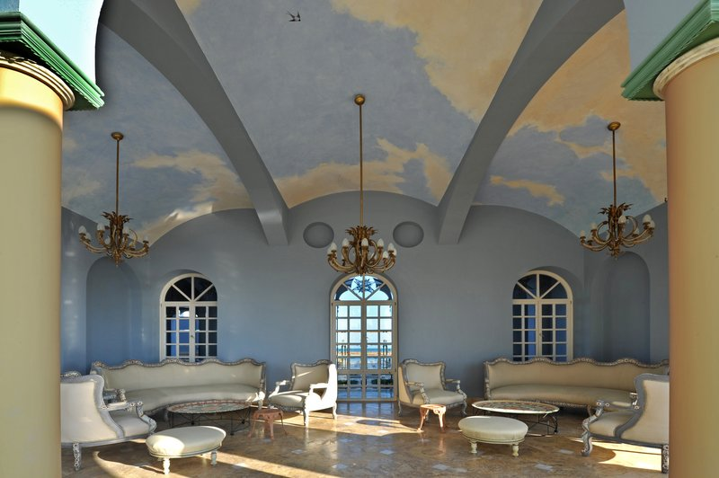 La Maison Bleue Interior