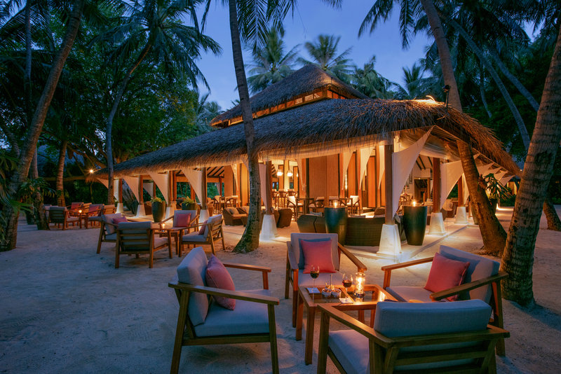 Baros Maldives Palm Garden Twilight
