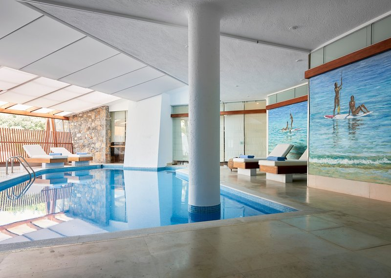 Poseidon Spa Indoor Heated Pool