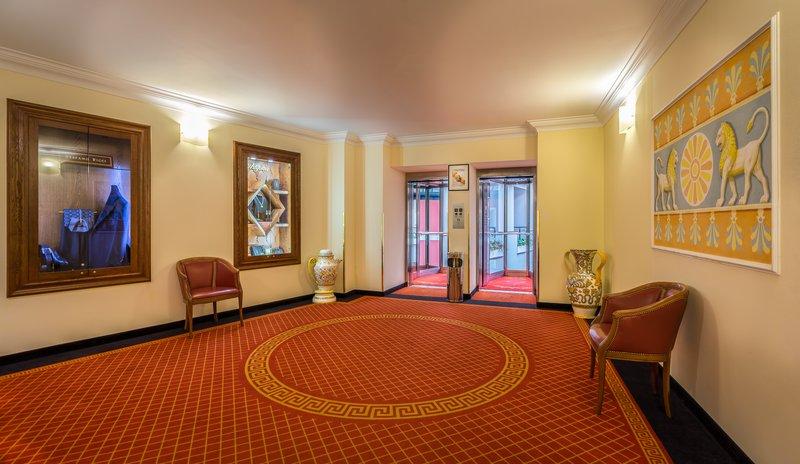 Grand Hotel Yerevan Corridors