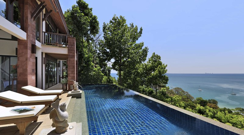 Hillside Ocean View Private Pool Villa Bedrooms