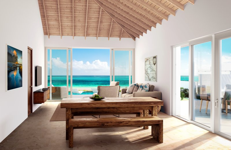 Two Bedroom Beachfront Villa Deluxe