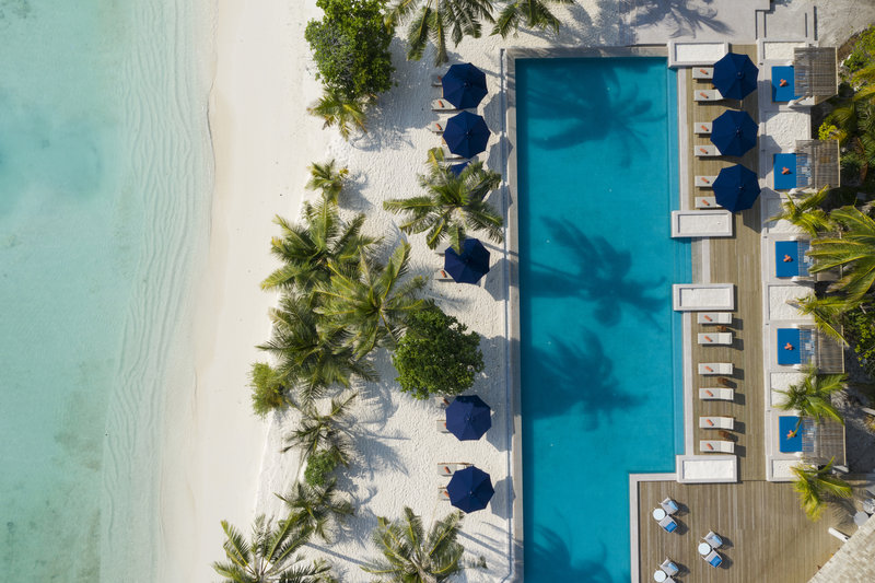 Faarufushi Aerial Top View