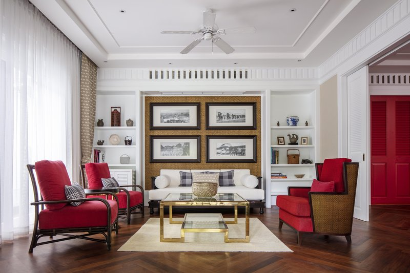William Bain Terrace Suite - Living Room